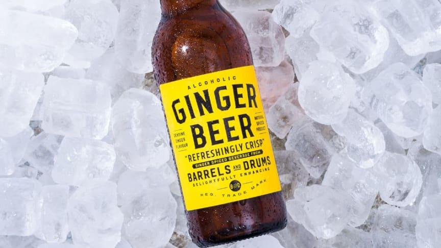 Barrels and Drums Ginger Beer