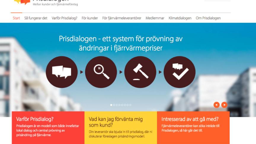 Läs mer om Prisdialogens arbete på prisdialogen.se.