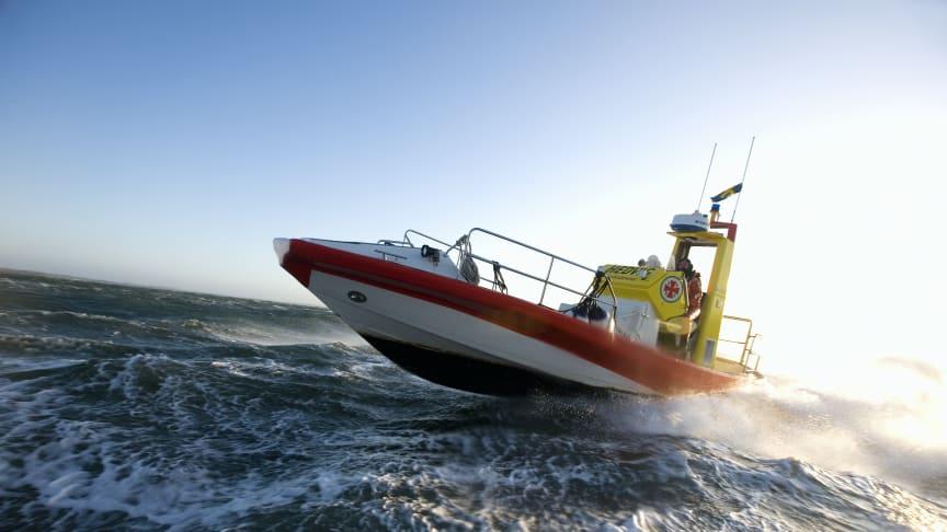 En ny räddningsbåt i Gunnel Larson-klassen kommer att namnges på söndag. Arkivbild.