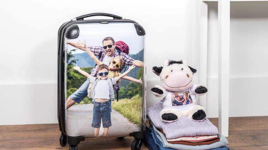 En kabinväska med personligt tryck - enkel att se på bagagebandet!