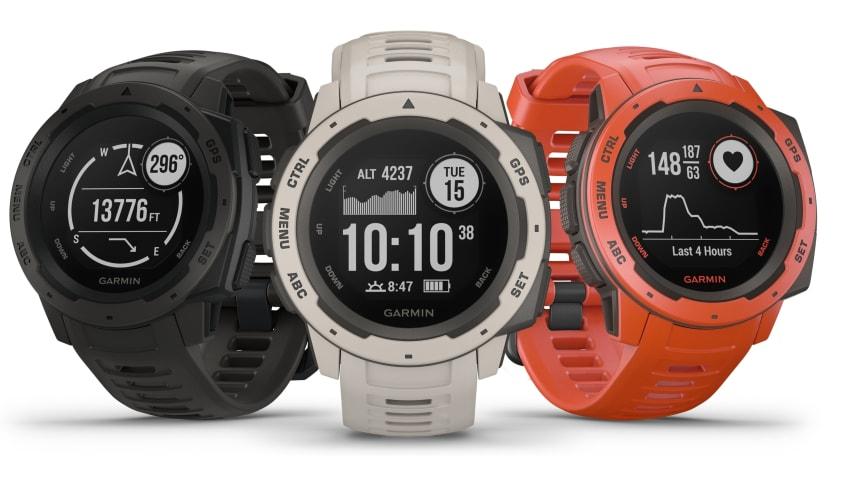 Instinct : La nouvelle montre multifonctions de Garmin