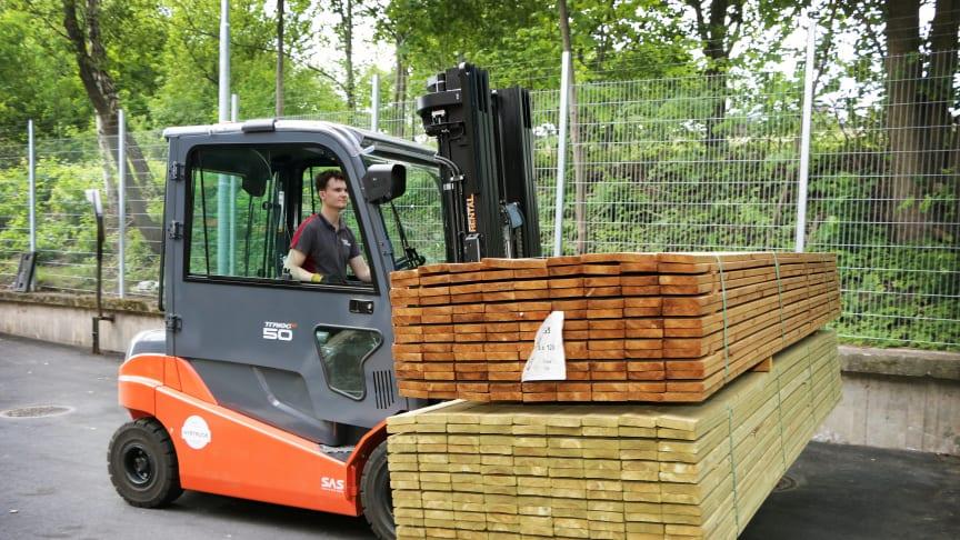 Stark försäljningsutveckling i hela Sverige för byggmaterialhandeln i mars