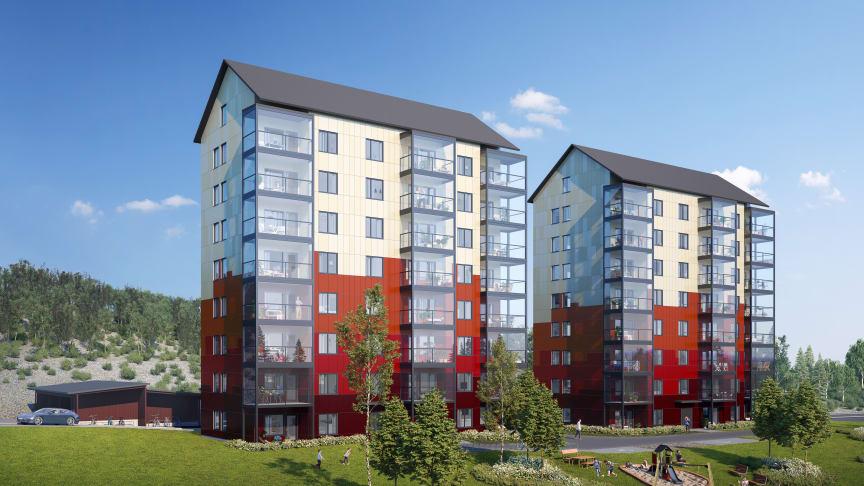 Klart för byggstart av Riksbyggens Brf Fjällblicken i Kiruna
