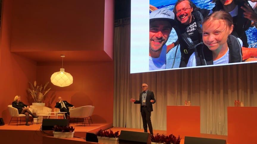 Mitt budskap till industrin nu när det är lite lugnare nu är att ta vara på tiden, säger Fredrik Sidahl, vd på FKG, Fordonskomponentgruppen.
