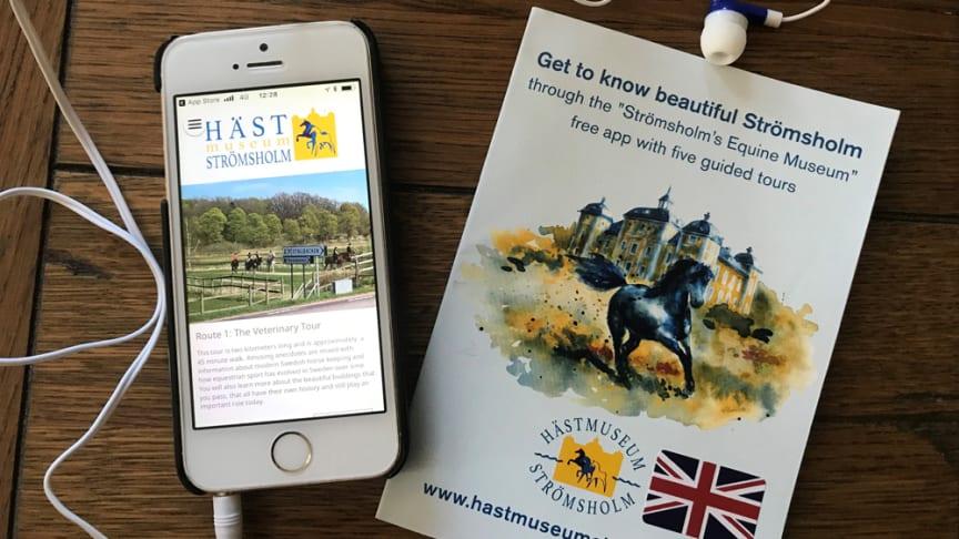 Hästmuseum Strömsholm – nu även på engelska!