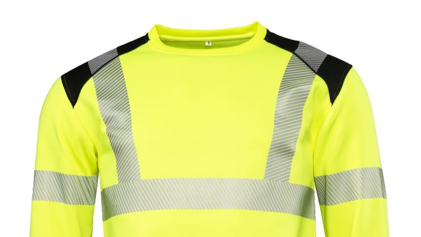 Sweatshirt Worksafe Unisex Perform HiVis Cl3