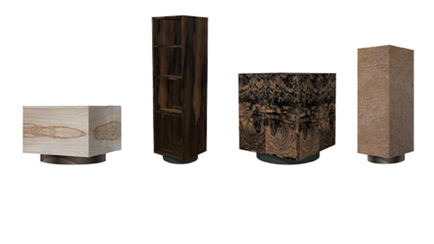 Tokyo 4 består av 4 minimalistiska volymer där yta och öppningsdetaljen ger det definierande uttrycket.