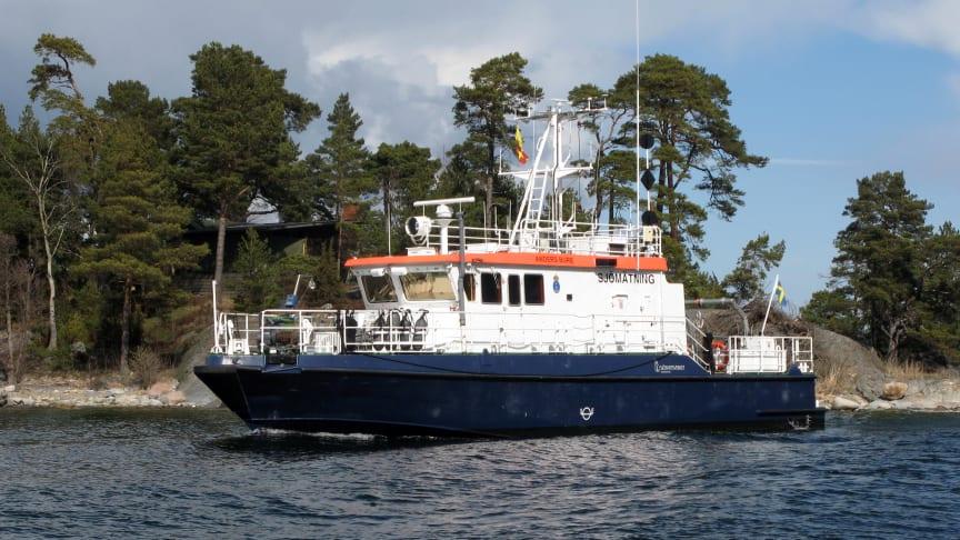 Sjöfartsverkets sjömätningsfartyg Anders Bure