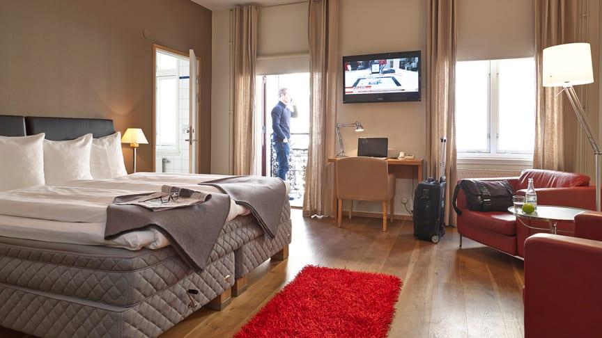 Bra luft på hotellrummet är en viktig faktor för gästerna.