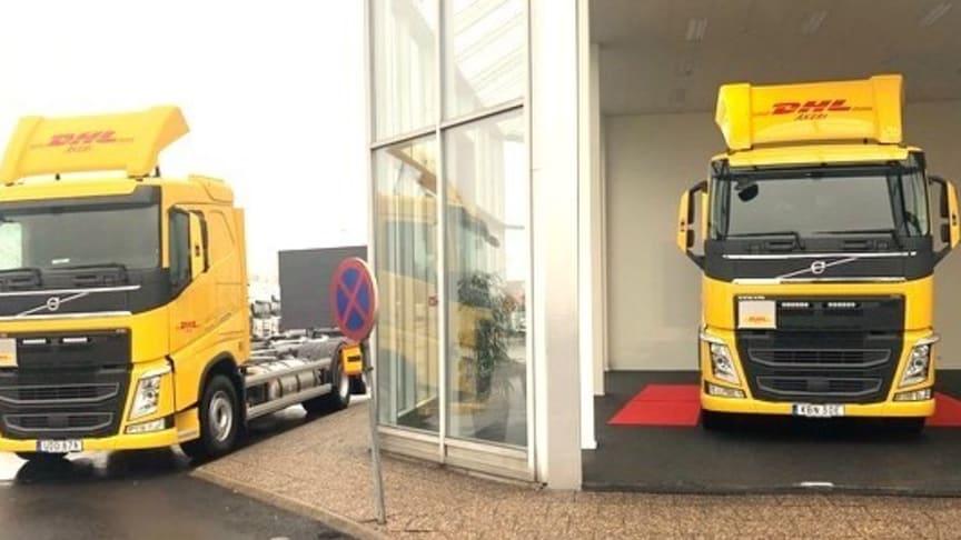 DHL tar nya biogasbilar i drift