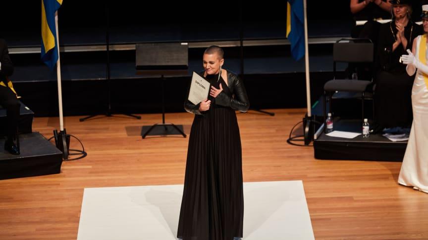 Tillan Strand, vinnare av Pedagogiska priset 2019, Jönköping University