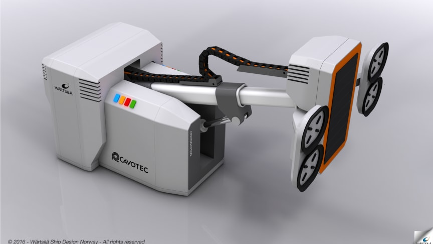 Cavotec & Wärtsilä to develop world's first marine wireless charging and mooring concept