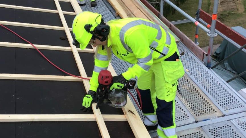 Pressinbjudan: Praktikplatsprojekt ska locka fler kvinnor till byggbranschen