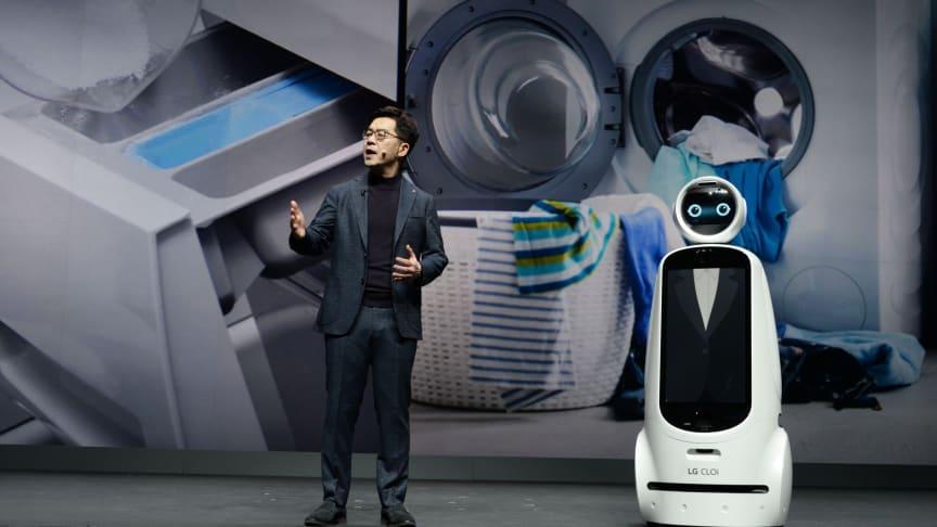 LG berättar om ett bättre liv med hjälp av AI under CES 2019-keynote
