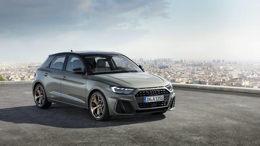 Ny Audi A1 Sportback med markant og stramt design