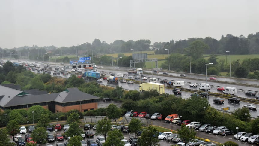 Today's weather and getaway traffic 'a recipe for road misery'