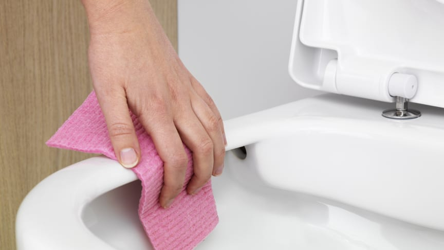 Hygienic Flush blir standard hos Gustavsberg
