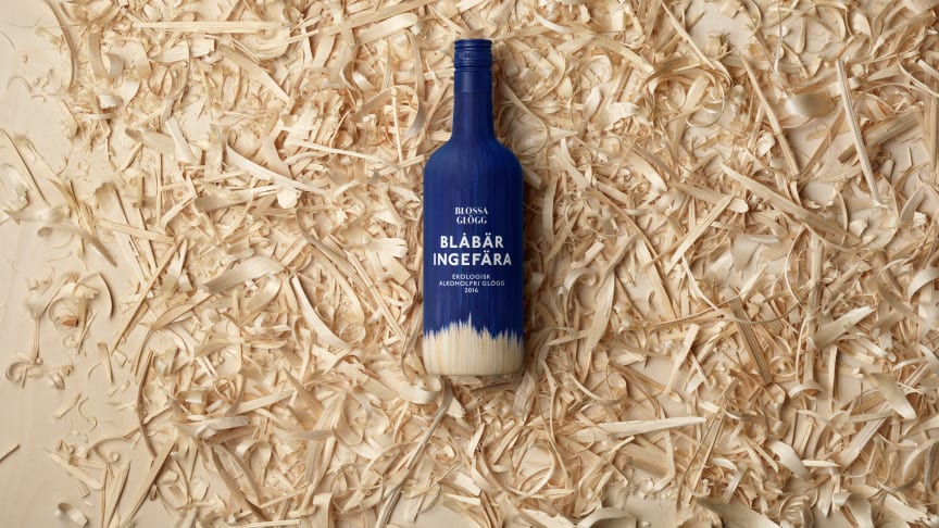 Blossa Ekologisk Alkoholfri Blåbär & Ingefära 2016