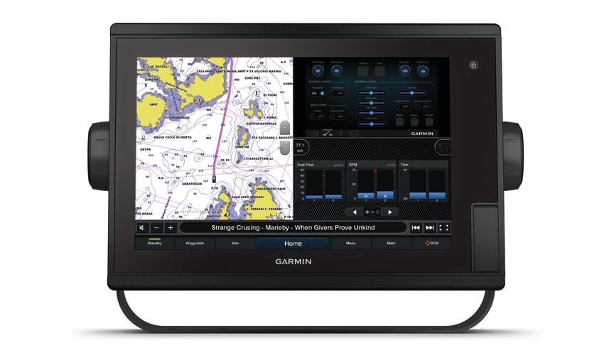 Garmin® forsterker sin populære plotterserie, GPSMAP® Plus