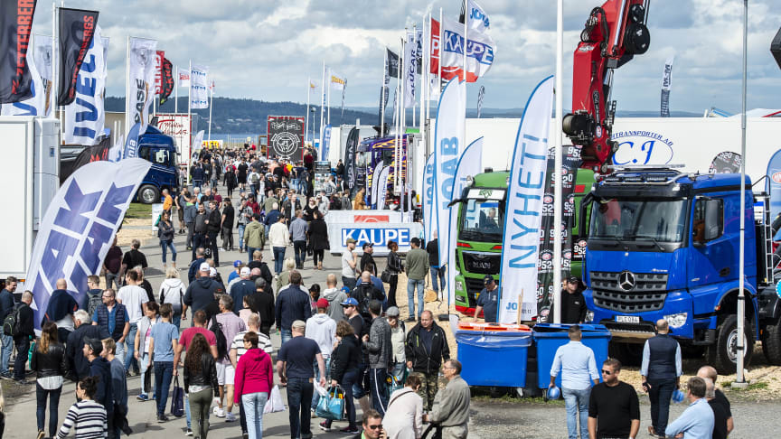 The national and international venue for the haulage and transport industry will on display already on 2-5 June in 2021, at Elmia, Jönköping.