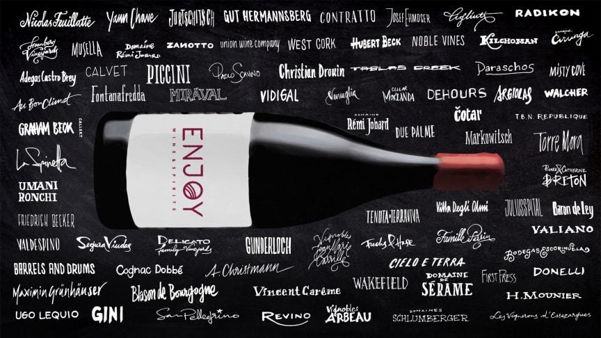 Enjoy Wine & Spirits klimatkompenserar alla frakter och transporter sedan 2015