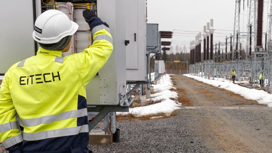 Eitech bygger tre nya transformatorstationer till E.ON
