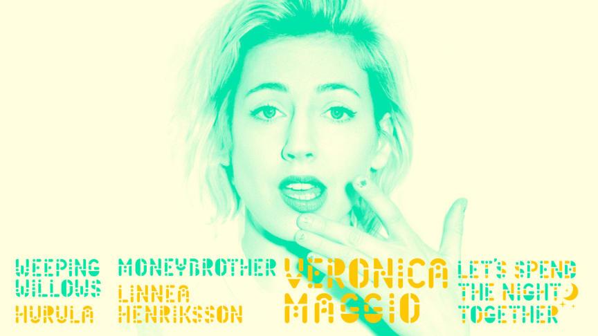 Moneybrother och Linnea Henriksson till Let's Spend The Night Together i Uppsala