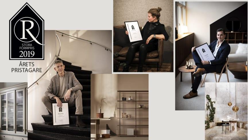 Alla vinnarna för Residence Stora Formpris 2019