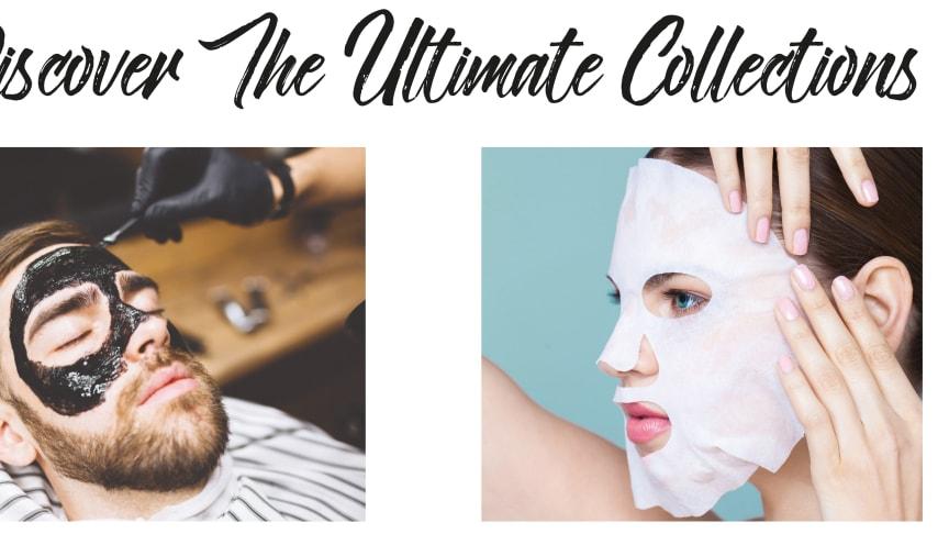 Barber Pro Sheet Mask Range for men & Beauty Pro Sheet Mask Range