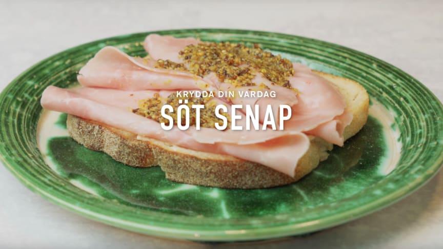 Recept: Söt senap
