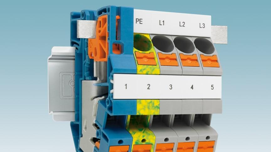 Installationsplintar PTI 16/S och PTN 16/S