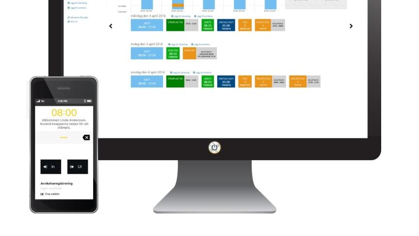 Hogia MyTime som app för Windows 10