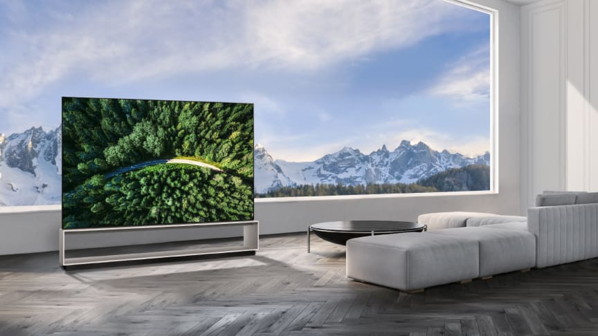 LG påbörjar den globala lanseringen av OLED- och NanoCell-TV med äkta 8K upplösning