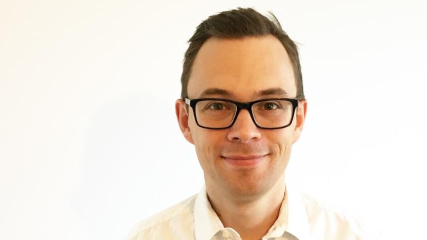 Alexander Eklöw ny chef för Riksbyggens ombyggnadsverksamhet