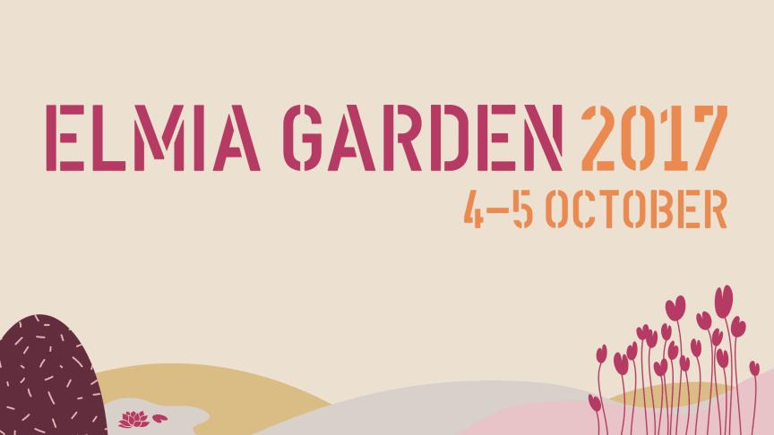 Press invitation:  Garden trends and future technology forecasts at Elmia Garden