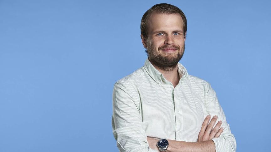 Med elektronisk fakturering behöver inga fakturor hanteras manuellt, berättar Jesper Ringholm som är ansvarig för kundsegmentet små och medelstora företag på Hogia.