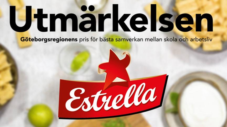 """Estrella nomineras till Göteborgsregionens pris """"Utmärkelsen"""" 2019 för Estrellaakademien"""