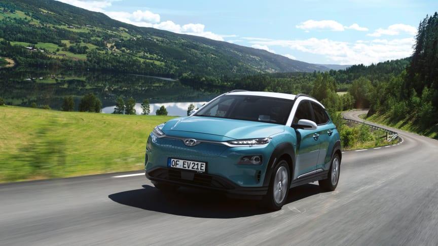 Laddbara bilar dominerar Hyundais försäljning i mars 2020.