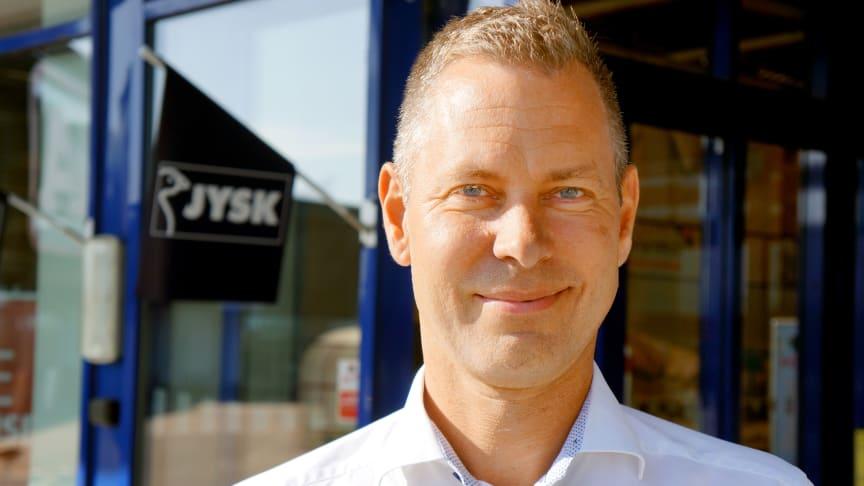 Johan Sjödin, vd JYSK Sverige