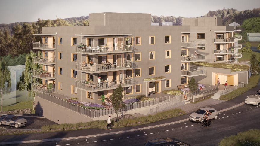 Sisjödal, Askim - Brf Sisjöhöjd 36 lägenheter
