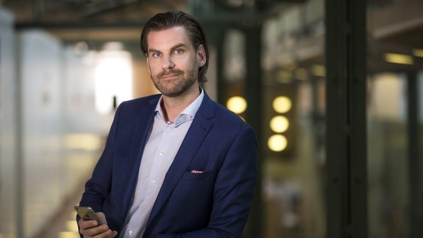 Andreas Kristensson, ansvarig för innovation och affärsutveckling, Telenor företag