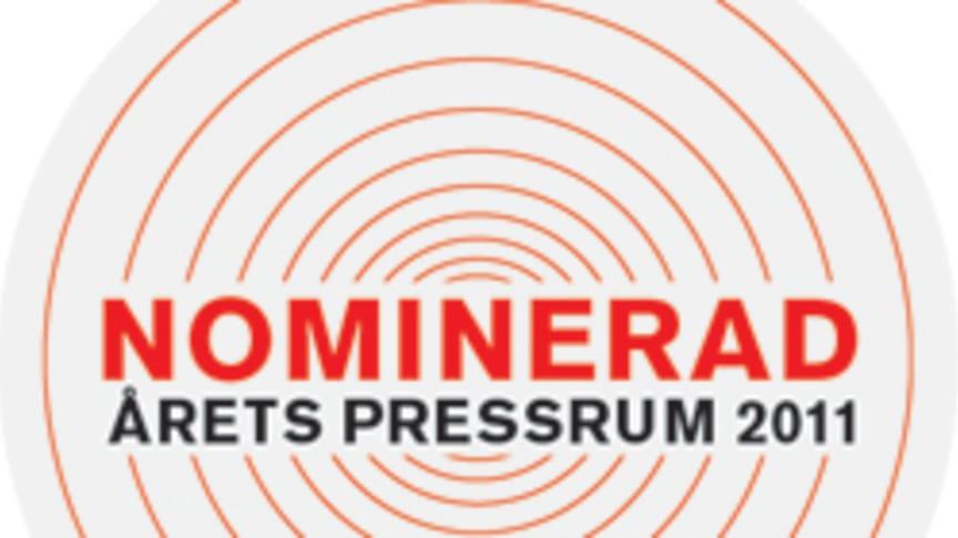 C3C nominerade till Årets Pressrum 2011