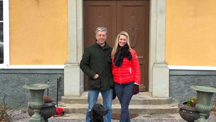 Nils och Sophia Bosson, Nyborgs gård