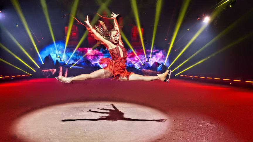 HOLIDAY ON ICE feiert Weltpremiere mit neuem Showerlebnis erstmals in Hannover