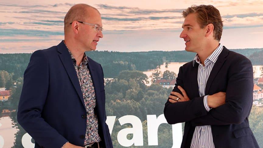 Gunnar Eikeland och Christian Guttman