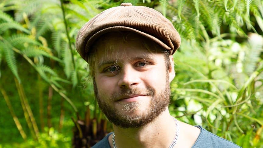 Anton Sundin, trädgårdsingenjör i Skellefteå pastorat.