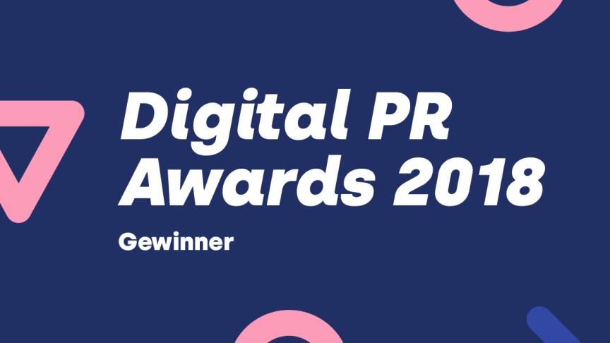 Die Gewinner der Digital PR Awards 2018 stehen fest