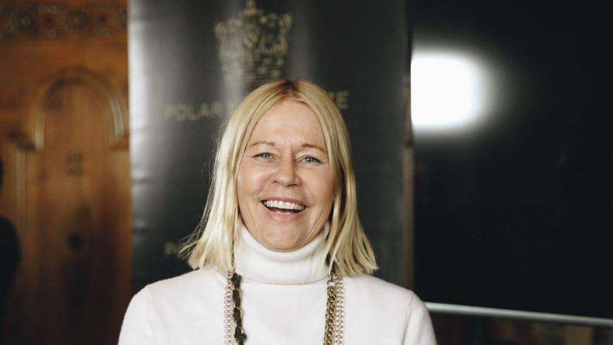Marie Ledin, hedersdoktor vid Karlstads universitet 2020. Pressfoto: Polar Music Prize.