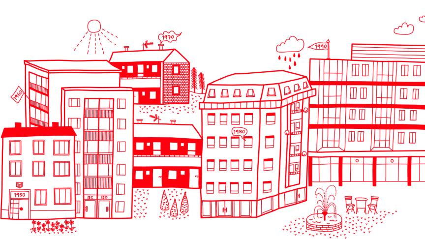 Riksbyggen planerar för 120 nya bostäder i Skellefteå