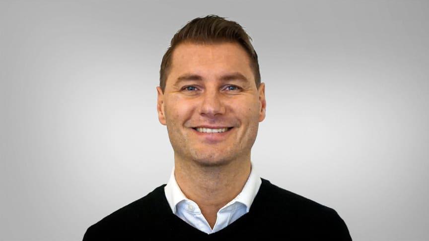 Johan Danielsson är ny regionansvarig säljare i Kalmar, Kronoberg, Jönköping och Östergötland.